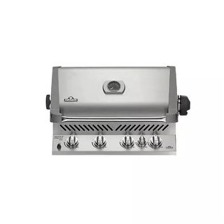 Napoleon BIP500RBP-2 66,000 BTU 30-3/4 Inch Wide Built-In Five Burner Liquid Propane Grill with Infrared Rear Burner from the
