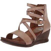 Miz Mooz Womens Shay Open Toe Casual Strappy Sandals
