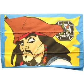 2 Standard Pirates of the Caribbean Pillowcases