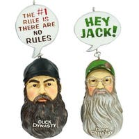 Duck Dynasty Ornament Set - Jase & Si