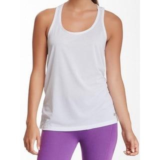 Marika Tek NEW White Womens Size Large L Racerback Shirt Athletic