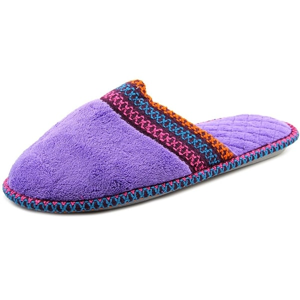 Muk Luks Cathy Micro Chenille Lilac Slippers