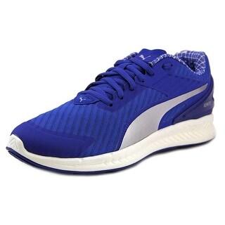 Puma IGNITE v2 PWRCOOL Men Round Toe Canvas Blue Running Shoe