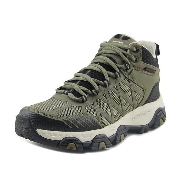 Skechers Terrabite Mid Men Round Toe Synthetic Trail Running