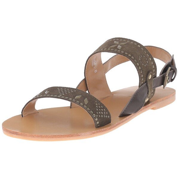 Report Womens Zasha Open Toe Casual Slingback Sandals