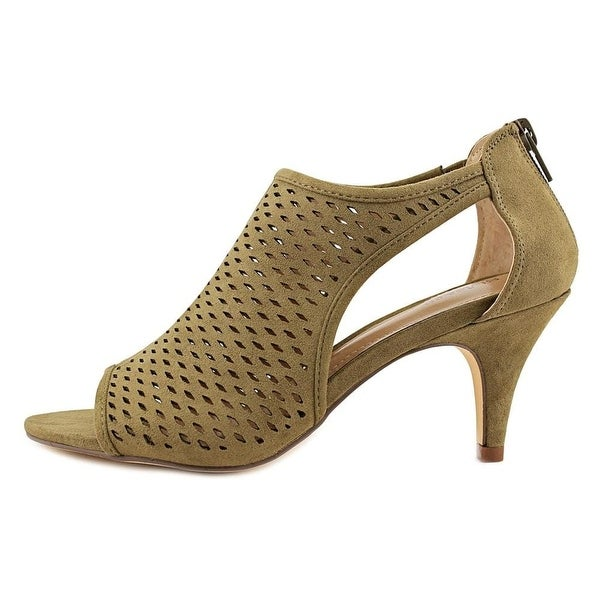 Style & Co. Womens haddie Fabric Open Toe Special Occasion Mule Sandals