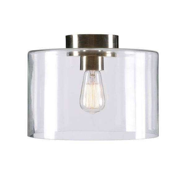 Kenroy Home 91836 Capri Single Light Flush Mount Ceiling Fixture