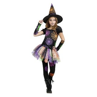 Girls Wild Witch Halloween Costume