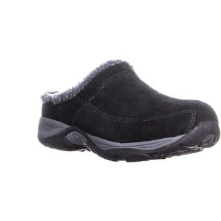 Easy Spirit Exchange Comfort Clogs, Black/Dark Gray
