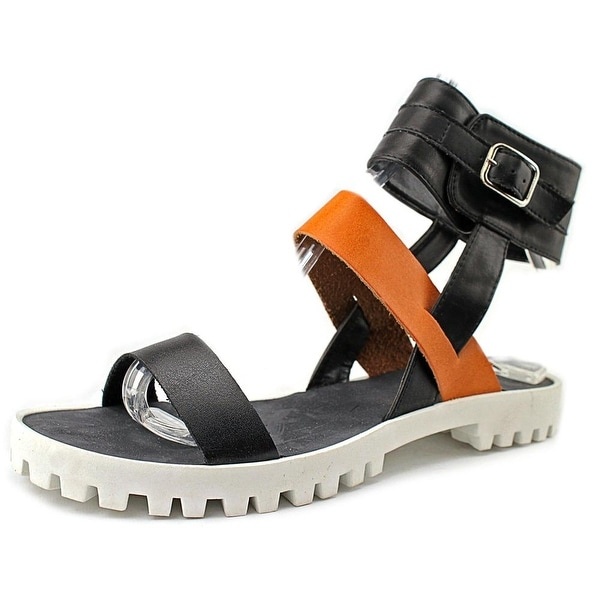 Qupid Cooper-06 Open Toe Synthetic Platform Sandal
