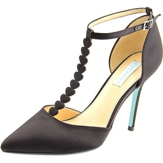 Betsey Johnson Cece   Pointed Toe Canvas  Heels