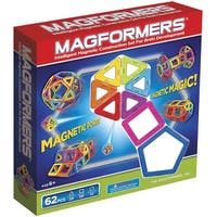 Magformers Magnetic Construction Set Classic 62-Piece - Multi