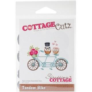 """Tandem Bike 3.1""""X2.2"""" - Cottagecutz Dies"""