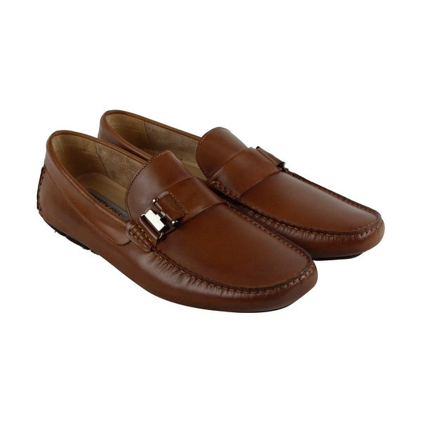 Kenneth Cole New York In Theme Mens Brown Casual Dress Loafers Shoes