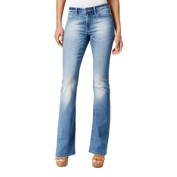 Calvin Klein Jeans Womens Flare Jeans Stretch Classic Fit