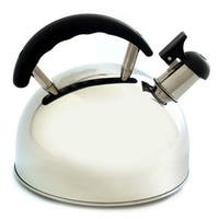 Norpro 5627 Whistling Tea Kettle, Stainless Steel, 2.6 Quarts