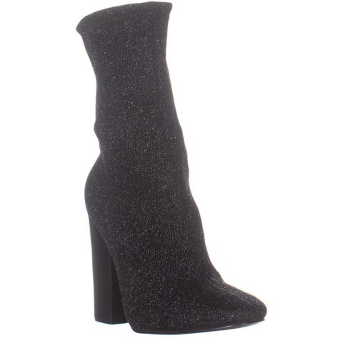 KENDALL + KYLIE Hailey4 Sock Boots, Black Multi FB - 6.5 US