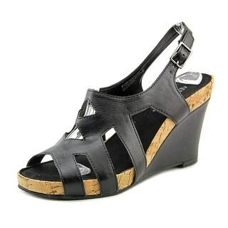 Aerosoles Palm Plush Women Open Toe Synthetic Wedge Sandal