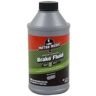 MotorMedic M4011/12 Silicone DOT 5 Brake Fluid, 11 fl. oz.