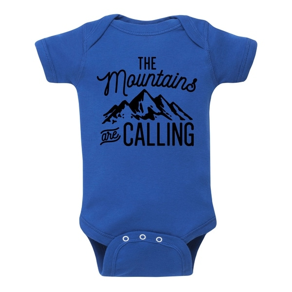 The Mountains Are Calling - Infant One Piece