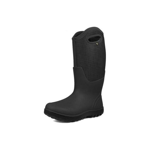 Bogs Outdoor Boots Womens Neo-Classic Linen Tall Waterproof