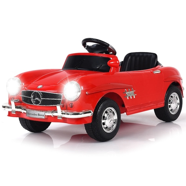 Costway MERCEDES BENZ 300SL AMG RC Electric Toy Kids Baby Ride on Car. Opens flyout.