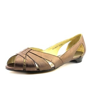 Mark Lemp By Walking Cradles Zuzu Women N/S Open-Toe Leather Flats
