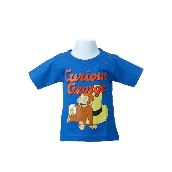 Toddler Curious George Royal Blue T-Shirt - 4T