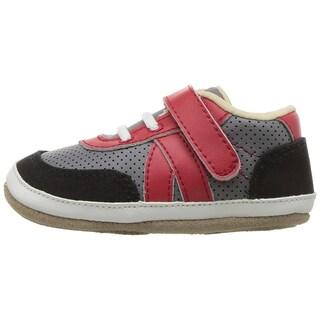 Robeez Baby Boy Mini Shoez Leather Slip On Sneakers