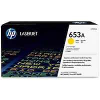 HP 653A Yellow Original LaserJet Toner Cartridge (CF322A)(Single Pack)