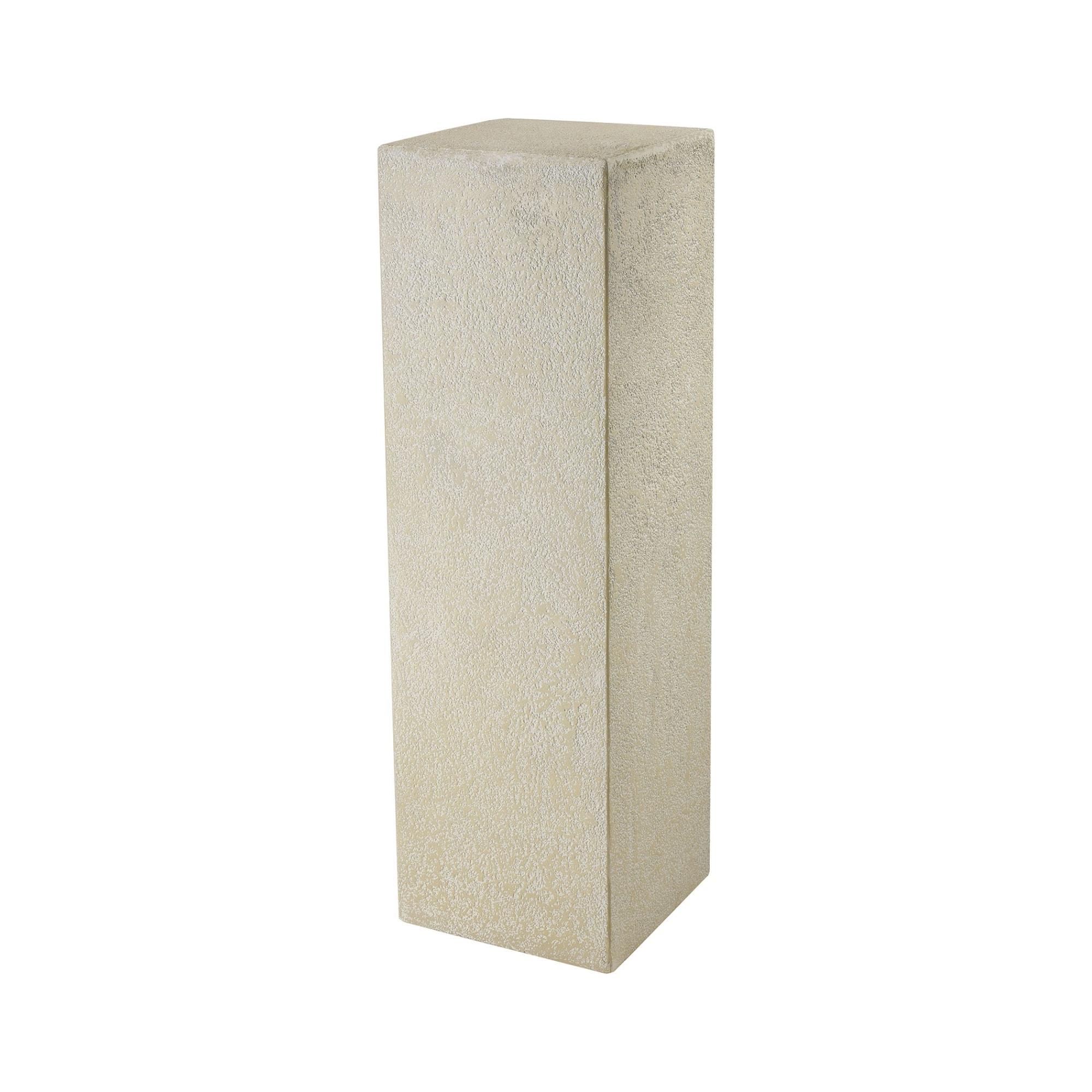 "Elk Home 9166-075 Ivory Tower 47-3/16"" Tall Fiberglass Pedestal Plant Stand thumbnail"