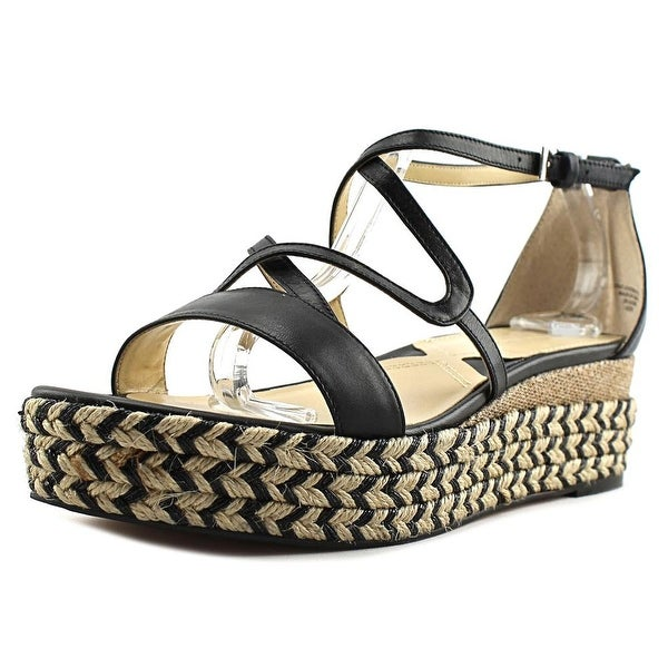 Adrienne Vittadini Louie Black Sandals