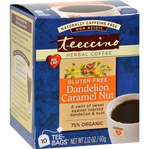 Teeccino - Teeccino Coffee Tee Bags - Organic - Dandelion Caramel Nut Herbal ( 2 - 10 BAG)