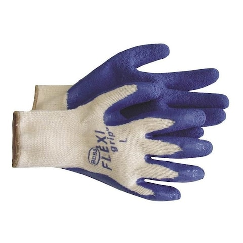 BossÂ8426L Flexigrip Latex Palm Glove, Large