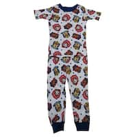 Nickelodeon Boys White Paw Patrol Short Sleeve 2 Pc Pajama Set