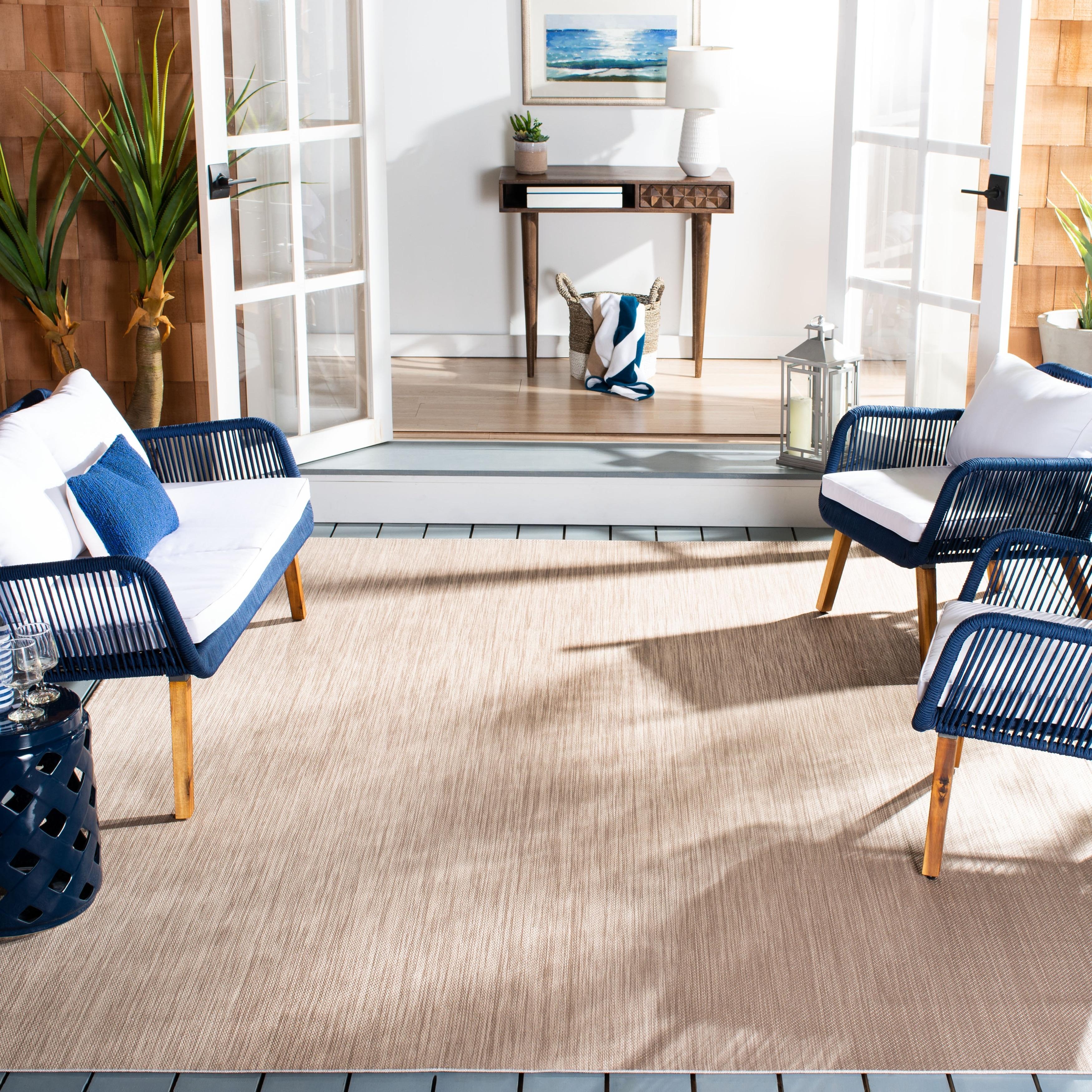 Safavieh Beach House Adina Indoor Outdoor Patio Backyard Rug On Sale Overstock 22710836