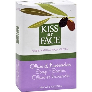 Kiss My Face - Olive And Lavender  Bar Soap ( 4 - 8 OZ)
