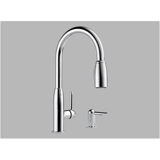 Peerless P188103LF-SD Kitchen Faucet With Soap Dispenser, Chrome