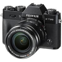 Fujifilm X-T20 Mirrorless Digital Camera with 18-55mm Lens (Black) (International Model)