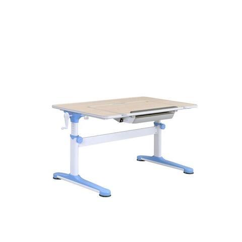Large Ergonomic U-Shaped Desk, Adjustable Kids Desk