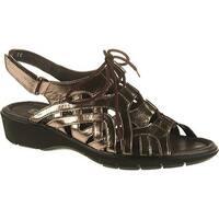 ara Women's Liv 36080 Pewter Metallic Leather