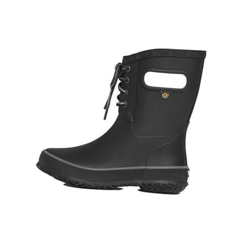 Bogs Outdoor Boots Girls Amanda Plush Waterproof Lace Up