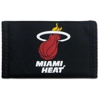 Miami Heat Nylon Trifold Wallet