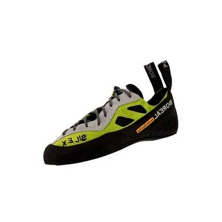 Boreal Climbing Shoes Womens Silex Leather Black White Yellow