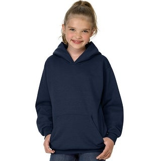 Hanes Youth ComfortBlend EcoSmart Pullover Hoodie - L