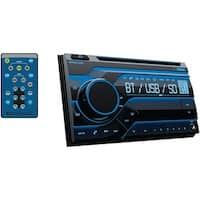 Planet Audio Pb475Rgb Double-Din In-Dash Cd Am/Fm Receiver With Bluetooth(R)
