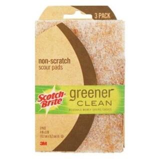 Scotch-Brite 97223-3-12 Greener Clean Scour Pad