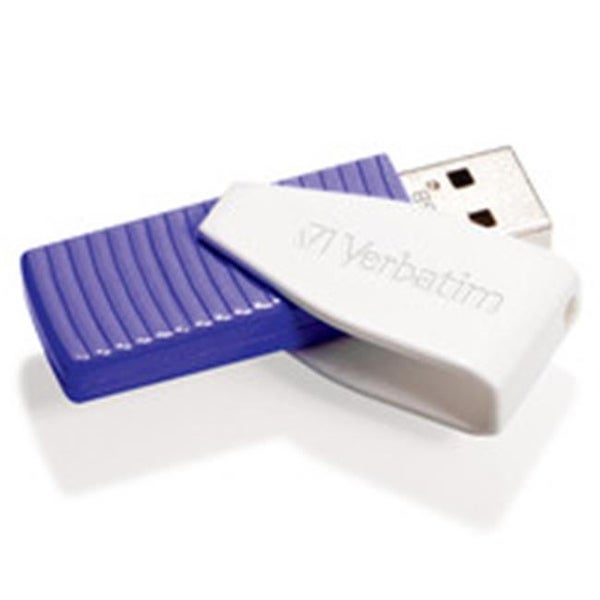 VERBATIM 49816 64GB Swivel USB Flash Drive Violet