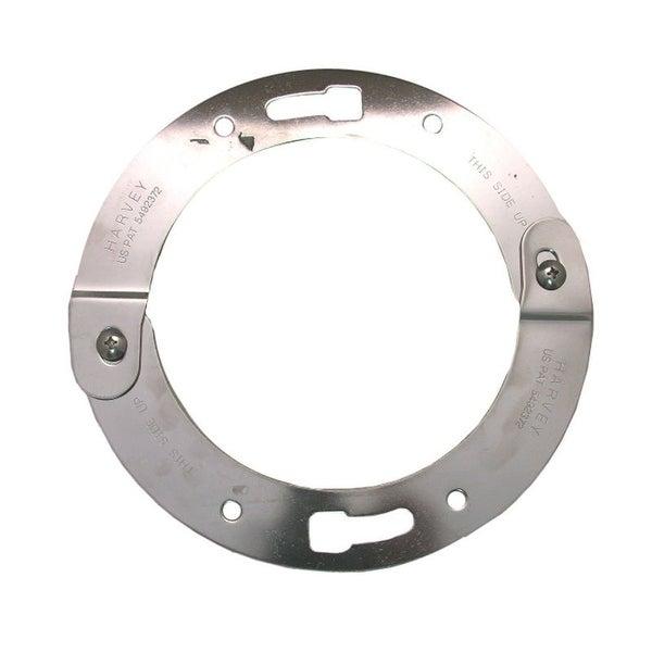 Lasco 33-3736 Stainless Steel Adjustable Toilet Flange Repair Ring