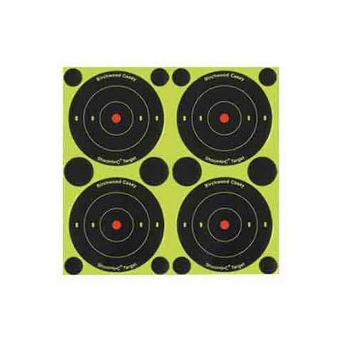 Birchwood casey 34315 b/c target shoot-n-c 3 bull's-eye 48 targets